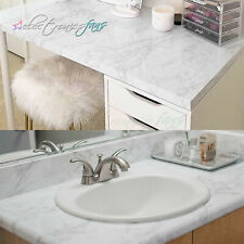 Gray Marble Self Adhesive Wallpaper Peel and Stick Film Removable Contact Paper