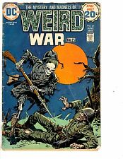 4 DC Comics Weird War Tales 26 Ragman 5 Sword of the Atom 3 Arma Inferno 2 JB3