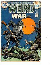4 DC Comics Weird War Tales 26 Ragman 5 Sword of the Atom 3 Arma Inferno 2 JB3