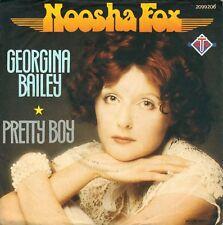 "7"" Noosha Fox (Wooden Horse) – Georgina Bailey / Pretty Boy // Germany 1977"