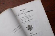 1863 Gouget Mémoire sur la bataille avant Alésia César Vercingétorix Bourgogne