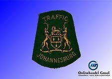 Südafrika: Abzeichen Polizei Verkehrspolizei Verkeer Traffic Johannesburg