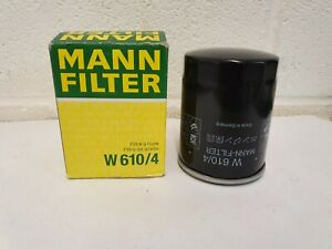 W610/4 OIL FILTER MANN FOR JCB / PERKINS ENGINES - O.E.