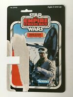 Original Star Wars Vintage Rebel Soldier Hoth Gear Rebel Card Back 1980 Kenner
