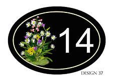House,door,caravan name or number plaque/sign Various Designs YOUR NUMBER FREE