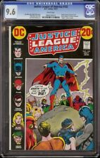Justice League of America # 102 CGC 9.6 White (DC, 1972) Nick Cardy cover