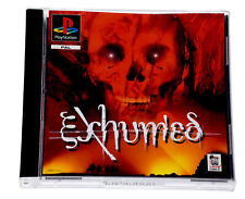 EXHUMED Rare Original Sony PS1 PlayStation 1 PS One PAL Game *NEAR MINT*