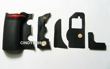 New Repair Part for Nikon D700 5 Pieces Front Left Bottom Grip Rubber Unit +Tape