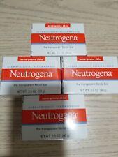 Dermatologist  recommended, lot 4 Neutrogena Acne Prone Skin facial bar 3.5oz