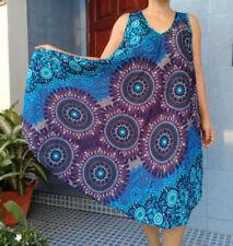 Boho Rayon Dresses for Women with Blouson