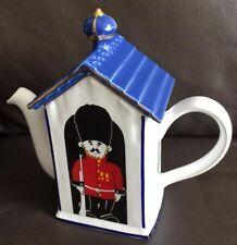 "Price Kensington ""Palace Guard"" English Pottery Souvenir Teapot In Perfect Order"