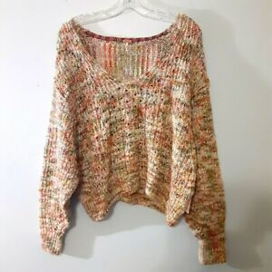 Free People Highland Sweater in Mendocino Combo