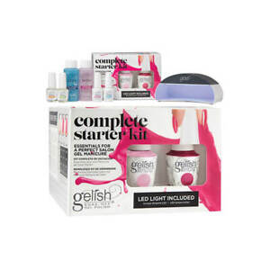 Gelish COMPLETE STARTER KIT - Salon Gel Manicure and LED Gel Light