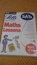 Letts Maths Lessons Ages 7-11 in PC Platform