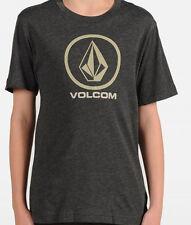 Volcom Circle Staple Tee (L) Charcoal