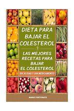 Dieta Para Bajar el Colesterol: Las Mejores Recetas Para Bajar ... Free Shipping
