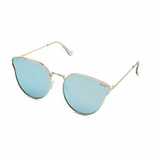 Quay Australia Damen Sonnenbrille ALL MY LOVE sunglasses gold blue