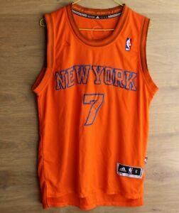 NEW YORK KNICKS 2012 XMAS NBA BASKETBALL JERSEY SHIRT #7 ANTHONY SIZE S
