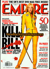 Uk Empire 11/03,Uma Thurman,Kill Bill,Will Smith,Pixar,Coen,November 2003,Rare