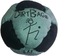 Dirt Bag SandMaster DirtBag Hacky Sack Foot Bag Black Grey New DB01