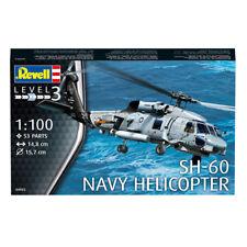REVELL SH-60 Navy Helicopter (niveau 3) (échelle 1:100) Model Kit 04955 New