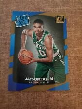 2017-18 DONRUSS BASKETBALL JAYSON TATUM RATED ROOKIE BOSTON CELTICS #198 RC