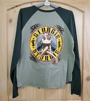 2005 Harley Davidson Sturgis Rally Black Hills Long Sleeve Graphic Shirt Size XL