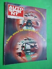 AUTOSPRINT 1972/51-52 Abarth Osella Gethin Mass Fiat 126 Racing Show Parigi