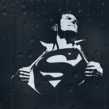 Superman Clark Kent Car Decal Vinyl Sticker For Window Or Bumper Or Panel