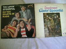 "THE LOVIN' SPOONFUL, TWO LP'S  ""DO YOU BELIEVE IN MAGIC"" AND ""DAYDREAM"" KAMA SUT"