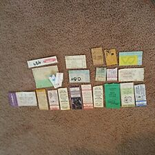14 Rock etc Concert Ticket Stubs BILLY IDOL, AC/DC, STEVIE NICKS, LYNYRD SKYNYRD