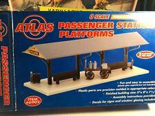 🚅  O SCALE Atlas 6902 Passenger Station Platform (2 platforms in boxNEW👍-E526