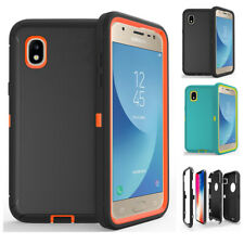 For Samsung Galaxy A10e Shockproof Armor Rugged Hard Dual Defender Case Cover