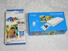 VuPoint Solutions Photo Cube mini Portable Photo Printer bundle WITH CARTRIDGES