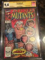 New Mutants #87 CGC 9.4 SS KEY *1st Cable & Stryfe!* Signed by Todd McFarlane!!