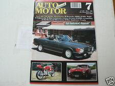 AMK 1996-07 JAWA 2-TAKT RACER,MERCEDES 350 SL,MILLE MIGLIA,TULPENRALLYE,BMW NEUT