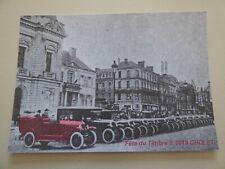 Carte postale moderne Fête du timbre 2019 Caravane Citroën Cholet