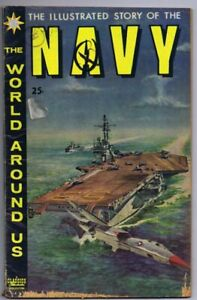 Illustrated Story of the Navy Classics Illustrated #10 HRN 150 Gold Key