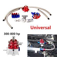 Durable Adjustable Fuel Pressure Regulator Kit AN 6 Fitting End Universal Engine