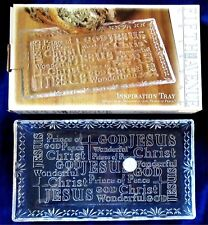 Fifth Avenue Crystal Inspiration Tray Jesus Wonderful God Prince Of Peace New