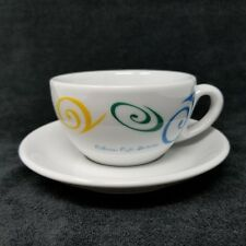 Starbucks Collezione Caffe Cappuccino Cup Saucer D Reinhart IPA Italy 5 ounce #1