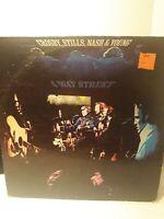 Crosby,Stills,Nash and Young Vinyl 4 Way Street Double LP Atlantic Sd2-902 1971