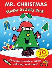 MR MEN ROGER HARGREAVES MR CHRISTMAS COLORING STICKER ACTIVITY BOOK
