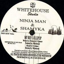 """NINJA MAN AND SHAMYKA my boy lollipop WH 006 uk whitehouse studio 12"""" WS EX/"""
