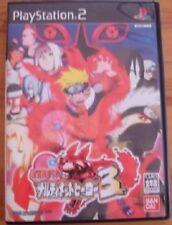 PS2 NARUTO Shippuden NARUTIMATE HERO 3 / 2Disc Japan