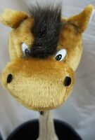 350cc Golf Club Animal Wood HeadCover, HORSE, Fit Reg Driver & Fairway Woods