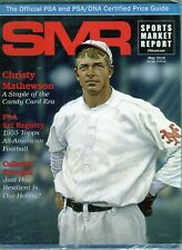 New listing MAY 2016 CHRISTY MATHEWSON COVER SMR PSA SPORTS MARKET REPORT PRICE GUIDE  MINT