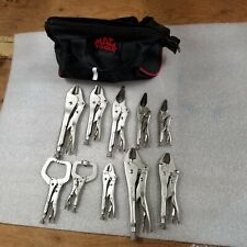 Mac Tools 10 piece Pliers set locking pliers