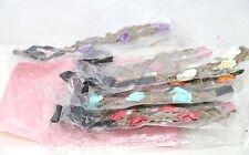 Blumenkranz / Haarbänder, Bohemia Style Kopfschmuck - 8 Stück mehrfarbig