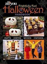 All You Frightfully Fun Halloween Handbook-ExLibrary